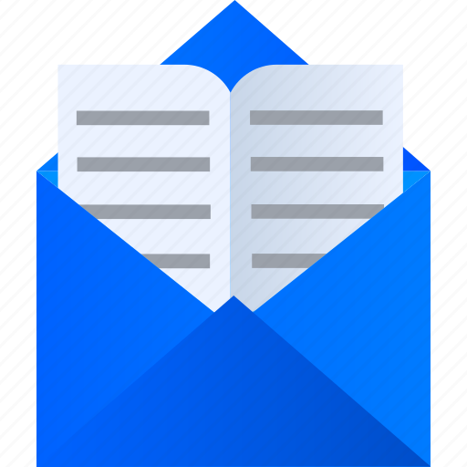 ebook, education, elearning, learning, mail, online icon