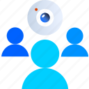 call, ebook, education, elearning, learning, online, video icon
