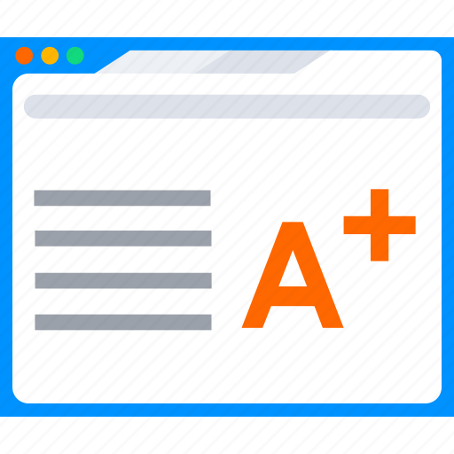 ebook, education, elearning, learning, online, result icon