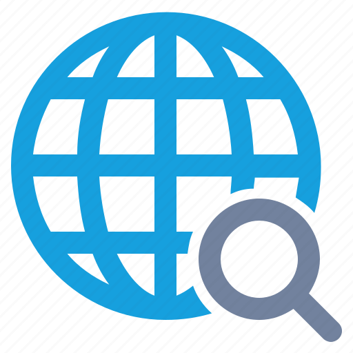 glass, globe, grid, magnifier, magnifying, search, seo icon
