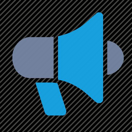 Advertising, alert, bullhorn, campaign, loudspeaker, marketing, megaphone icon - Download on Iconfinder