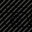 folder, gear, setting icon