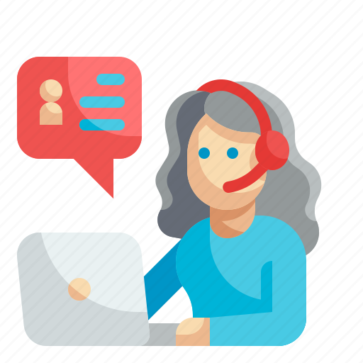 Customer, service, support, operator, contact icon - Download on Iconfinder