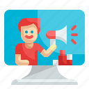 influencer, promotion, advertising, computer, marketing