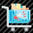 shopping, cart, commerce, advertisement, announcement