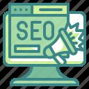seo, browser, marketing, online, announcement