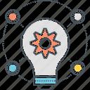 bulb, idea, setting