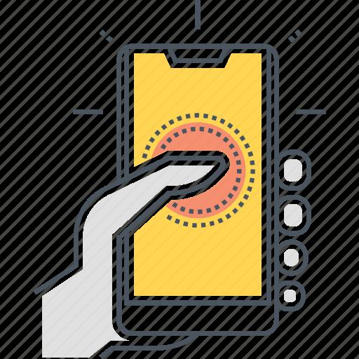 device, gadget, mobile, smartphone icon