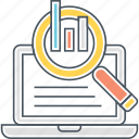 analytics, graph, monitoring, statistics icon