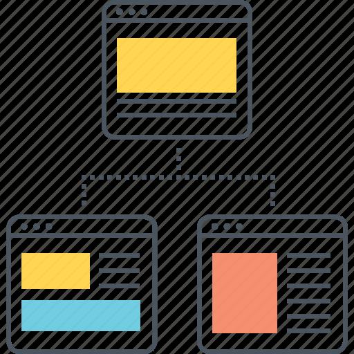 Flowchart, sitemap, workflow icon - Download on Iconfinder