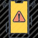 alerts, smart, smartphone icon