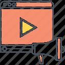 marketing, play, video