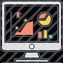analytics, statistics, web icon