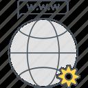 browser, development, web icon