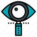 business, eye, magnifuer, search, vision icon