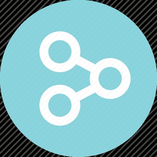 analytics, analyze, menu, nav, online, share icon