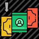 amount, minimum, money, transaction icon