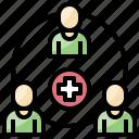 add, avatar, media, people, profile, social, user