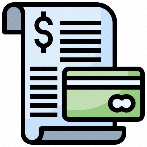commerce, finance, invoice, payment, ticket icon