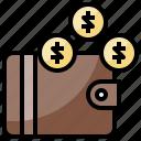 billfold, card, holder, money, notes, service, wallet