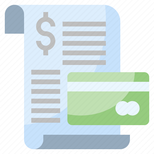 and, business, commerce, finance, invoice, payment, ticket icon