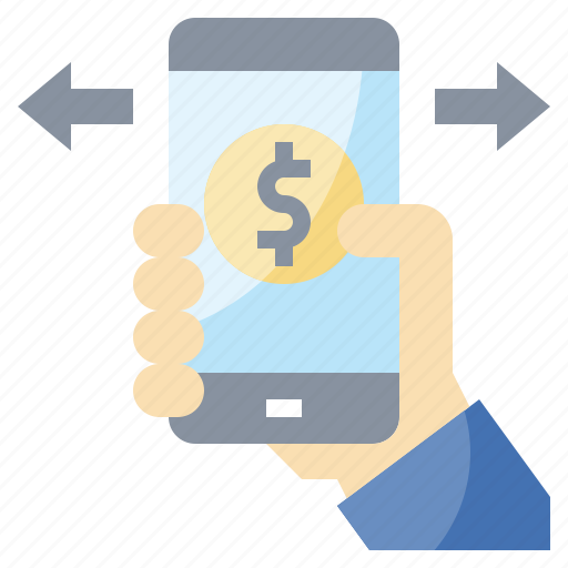 banking, debit, online, payment, store icon