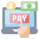bill, cash, money, pay, payment icon