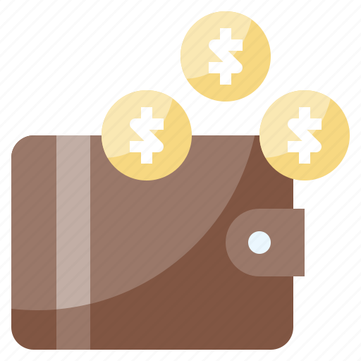 billfold, card, holder, money, notes, service, wallet icon