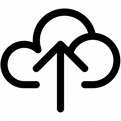 backup, cloud, communication, data, network, storage, upload icon