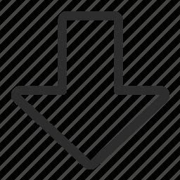 arrow, pointer, upload icon