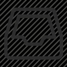 box, document, parcel, print icon