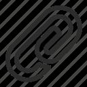 clip, document, file, film icon