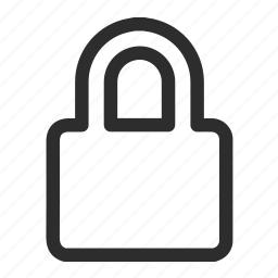 lock, protect, safety icon