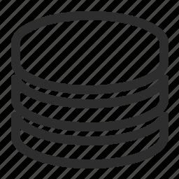computing, disk, storage icon