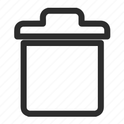 cancel, rubbish, trash icon