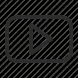 logo, tube, youtube icon