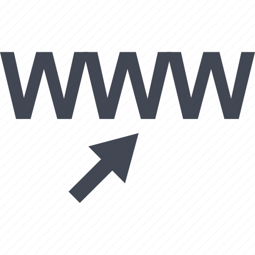 arrow, click, internet, mouse, online, website, www icon