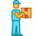 delivery, logistics, package, shipping icon