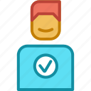 ecommerce, favourite, like, satisfied icon