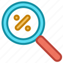 ecommerce, find, sale, search icon