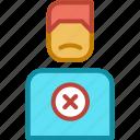 bad, dislike, ecommerce, unsatisfied icon
