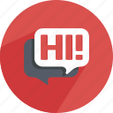 bubble, chat, conversation, dialog, speech, speechbubble, support icon