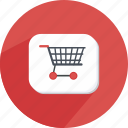 bubble, cart, experience, sale, shopping, webshop icon