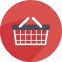 basket, buy, commerce, paper, pay, shop, shopping icon