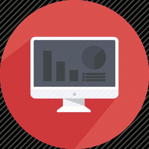 click, coin, content, money, monitor, shopping, web icon