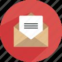 email, envelope, inbox, mail, message, send, statistics