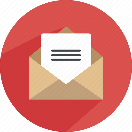 email, envelope, inbox, mail, message, send, statistics icon