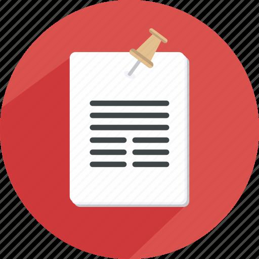 document, list, note, paper, reminder, schedule icon