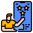 feedback, guarantee, ranking, rating, review icon