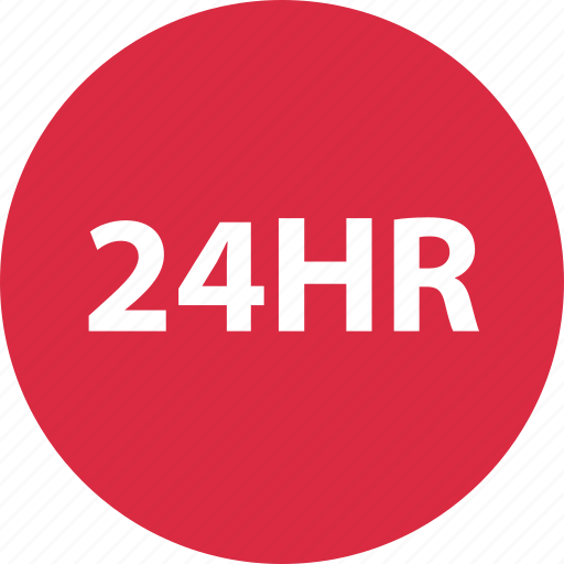 all day, day, hours, open twenty four hours, shopping, twenty four icon